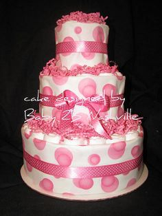 pink diaper cakes | Recent Photos The Commons Getty Collection Galleries World Map App ...