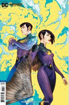 wonder twins 3 variant by dan mora (apr : DCcomics Dc Comics Characters, Dc Comics Art, Fun Comics, Marvel Dc Comics, Cosmic Comics, Comic Book Covers, Comic Books Art, Dan Mora, Wonder Twins