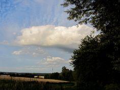 Weisse Wolke