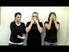 Stop Bullying Now - #ASL video  Bullying is a very serious issue that we need to speak out against.  #OneBraveThing