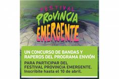 Concurso Envión para participar del Festival Provincia Emergente