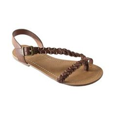 Womens Mossimo Supply Co. Winifred Braided Flat Sandal - Assorted