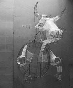 Polly Verity . Animal worlds built in wireframes * Design Catwalk