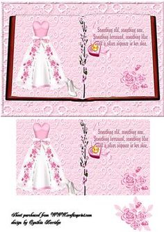 wedding book on Craftsuprint designed by Cynthia Berridge - a wedding day book  - Now available for download!