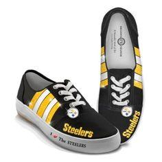 nfl pittsburgh steelers womenu0027s shoes i love the steelers - Pittsburgh Steelers Merchandise
