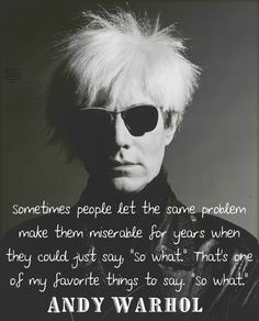 Andy #Warhol is enlightened