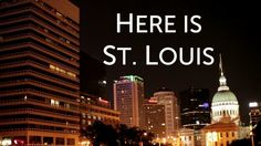 Here is St. Louis. Out of our love and passion for St. Louis City, we wanted to showcase some of the places and people that make it great. W...