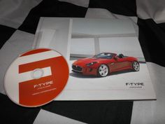 2012 JAGUAR F TYPE S V8 S BROCHURE PROSPEKT PRESS MEDIA PACK + CD ROM DVD RARE