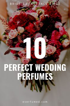 A mix of designer and niche options to help you smell amazing on your wedding day. A bride doesn't need to spend a fortune to feel and smell special!