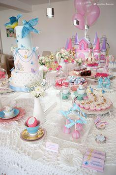 Lima Limão - festas com charme: Cinderela: aniversário da princesa Francisca!