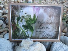 Inspirational Note Cards/Religious Note by CountrySettings on Etsy