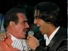 Alejandro y Vicente fernandez VOLVER VOLVER Y PERDON