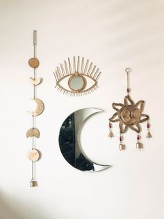 Room Inspo❤️ OM Wall Hanging, Moon Phase Decor, All Seeing Eye | Save 25% off all orders with code PINTERESTXO at checkout | Boho Bedroom Moon Phase Bohemian Zodiac Tapestry |Shop Now LadyScorpio101.com | @LadyScorpio101 |