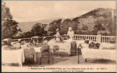 sanatorium des courmettes à Tourrettes sur loup, Provence, cote d'azur
