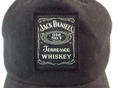 Jack Daniels Hat Tennessee Whiskey Old No 7 SnapBack Trucker Cap