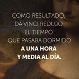 Entérate cómo descansar bien durmiendo sólo 4 horas al día.... Da Vinci lo descubrió #imagenesysoluciones