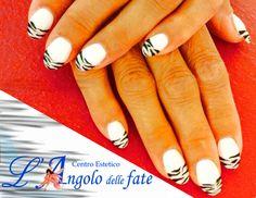 Zebrato!   beautiful#cute#instagood#LAngolodelleFate#nails#nailart#moda#fashion#manidifate#LeunghiedelleFate#zebrato