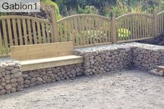 gabion seat and retaining wall http://www.gabion1.co.uk