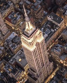 Empire State perspective.