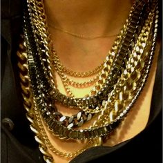 Cool layered necklace