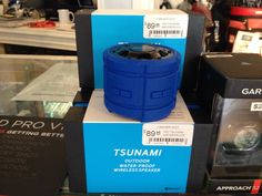The Awesome Tsunami Waterproof and Bluetooth Speakers are finally here! Bluetooth Speakers, Tsunami, Amazon Echo, The Wiz, Awesome, Tsunami Waves