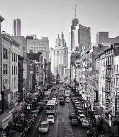 Exploring New York City.