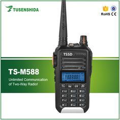 [Visit to Buy] #Advertisement Free Shipping High Power 5W 128CH PC Programmable VHF Two Way Radio TSSD TS-M588