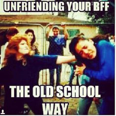 Old School way. Lol.