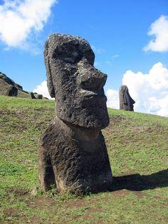 Moai EASTER ISLAND STATUES Glossy 8x10 Photo Print Wall Art Poster Monolithic