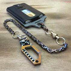 Small Wallet Chain SWC-04 / Drone Bi-Swivel