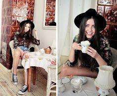 Coffee, please (by Kasia Gorol) http://lookbook.nu/look/3461043-Coffee-please