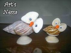 Image result for arte com conchas do mar passo a passo