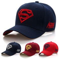 2018 Hot Sell Superman Hat Casquette Super-man Baseball Caps Hats For Men Bone Diamond Snapback Caps Trucker Hat Hip Hop Gorras Superman, Sport Direct, Unisex Fashion, Mens Fashion, Fashion Caps, Fashion Clothes, Baskets, Hip Hop Hat, Photo Album Scrapbooking