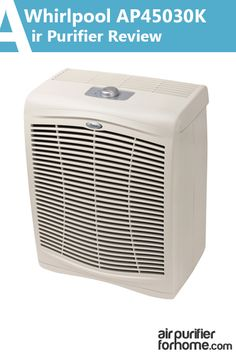 True HEPA-filter with 99.97% filtration rate - Whirlpool AP45030K Whispure Air Purifier