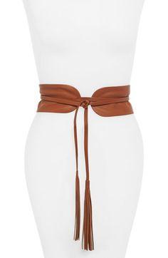B Low the Belt Lena Wrap Belt Nordstrom Diy Leather Belt, Leather Gifts, Leather Jewelry, Leather Craft, Cinto Obi, How To Wear Belts, B Low The Belt, Diy Accessoires, Cloth Belt