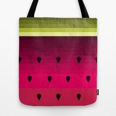 Watermelon Tote Bag by Kakel - $22.00