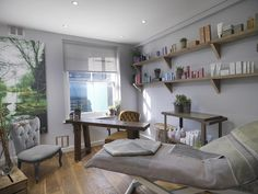home beauty salon layout ideas - Google Search                                                                                                                                                                                 More