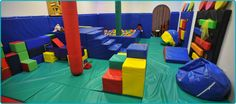 Soft Play and sealed cushions