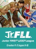 California Junior first Lego league