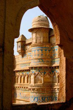 Ancient Hindu Palace, Gwalior, India