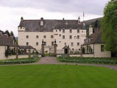 Traquair House is the oldest continually inhabited house in Scotland. It first came into the Stuart family's possession in Fife Scotland, Scotland Castles, Scottish Castles, Scotland Travel, Places Ive Been, Places To Visit, Scotland Holidays, House Property, Castle House