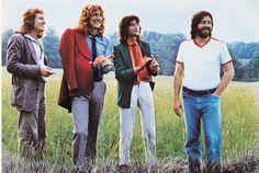 Led Zeppelin in Hertfordshire, 1979.