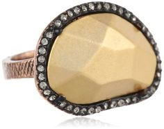 House of Harlow 1960 Horizontal Sahara Sand Stackable Ring, Size 6 - $50.00 - 33% off.