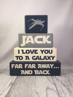 Bedroom - Star Wars Men - Ideas of Star Wars Men - Star wars xwing fighter I love you to a galaxy by AppleJackDesign Decoration Star Wars, Star Wars Decor, Star Wars Nursery, Star Wars Bedroom, Star Wars Baby, Star Wars Kindergarten, Boy Room, Kids Room, Star Wars Zimmer
