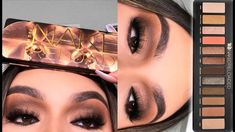 Makeup Eyeshadow Palette, Urban Decay Eyeshadow, Urban Decay Makeup, Korean Eye Makeup, Asian Makeup, Urban Decay Tutorial, Korean Makeup Tutorials, Eyeshadow Tutorials, Eyeshadow Ideas