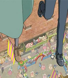 I have been wanting this Gif forever! Hayao Miyazaki, Studio Ghibli Art, Studio Ghibli Movies, Totoro, Film Animation Japonais, Howl Pendragon, Howl And Sophie, Film D'animation, Howls Moving Castle