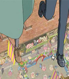 I have been wanting this Gif forever! Hayao Miyazaki, Studio Ghibli Art, Studio Ghibli Movies, Totoro, Film Animation Japonais, Howl Pendragon, Isao Takahata, Howl And Sophie, Film D'animation