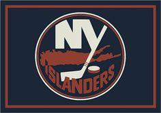 New York Islanders Team Logo Area Rug