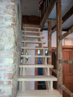 Pine Stair Can Design, Pine, Stairs, House, Pine Tree, Ladders, Home, Stairway, Haus