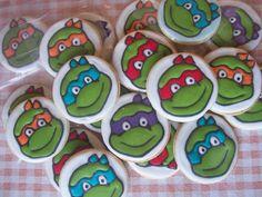 Dulces y Colores: Tortugas Ninja